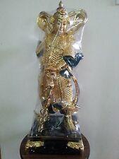 """23""""H Chinese Temple Warrior Veda Weituo Skanda Bodhisattva Wei Tuo Statue"""