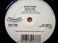 """EDEN KANE - BOYS CRY / WAYNE FONTANA - PAMELA, PAMELA  7"""" OLD GOLD VINYL"""