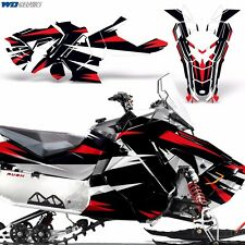 Sled Wrap for Polaris AXYS RUSH Pro S Graphic Snow Decal Kit Snowmobile Parts MR