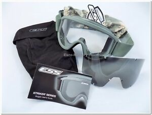 58aad755d33 ESS® Land Ops Goggles Foliage Green Military US Army Ballistic ...