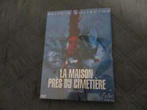 """RARE! DVD NEUF """"LA MAISON PRES DU CIMETIERE"""" film d'horreur de Lucio FULCI"""