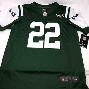 Details about Nike Matt Forte #22 New York Jets On Field NFL Football Jersey Youth Large