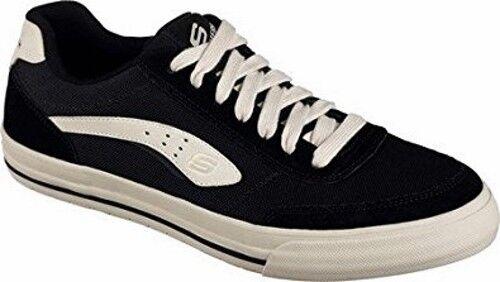 8f21805bac55 Men s Skechers Relaxed Fit Diamondback Revent Sneaker 8 M Black tan ...