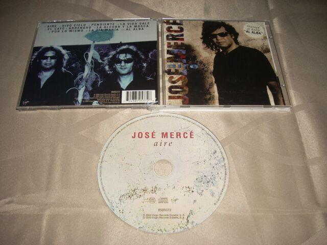 "JOSE MERCE ""AIRE"" MORAITO/VIRGIN CD 2000 EU/8505372"