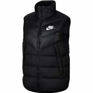 code promo b4356 9127e Details about Nike Sportswear Windrunner Down Fill Gilet Vest Black  928859-010 Men's M-XL