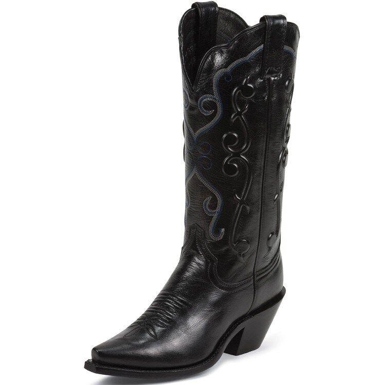 Women's Justin 13  Western Boot Black Sophia L4342