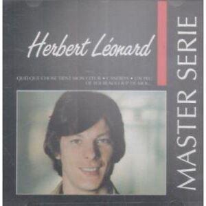 Master-Serie-1991-CD-Herbert-Leonard-Quelque-Chose-Tient-Mon-Coeur-1387