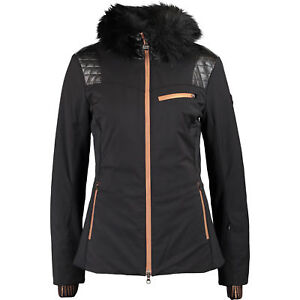 49a9fe37d Genuine EMPORIO ARMANI Women s Black Wool Ski Jacket