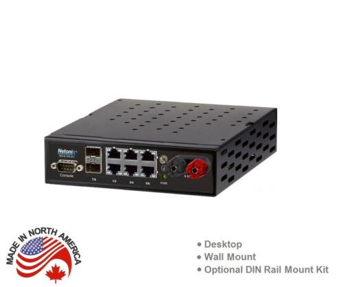 Netonix WS-8-150-DC 8 Port Managed PoE Switch DC 150W