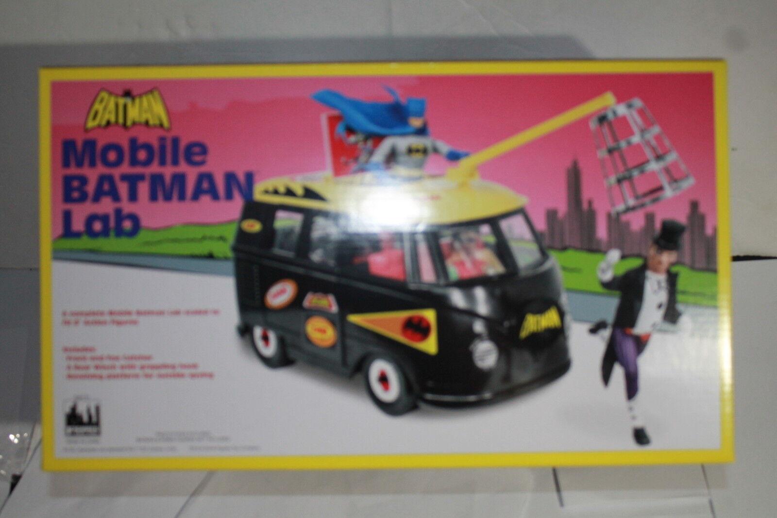 Dc comics bus playset retro - 8 zoll zahlen, batlab w exklusive pinguin misb