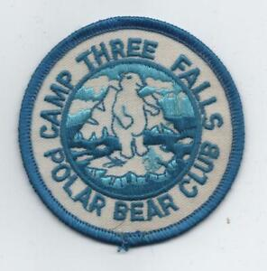 Details about Camp Sale: Camp Three Falls Polar Bear Club Patch (Ventura  County Council, Mint!