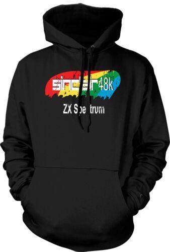 Sinclair 48k zx spectrum 80s-jeux électroniques-sweat à capuche