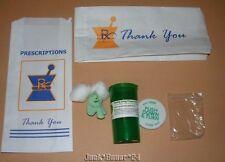 Luke Chueh Prisoner Kuma Kush Resin Figure Pharmacy Prescription Bag Art