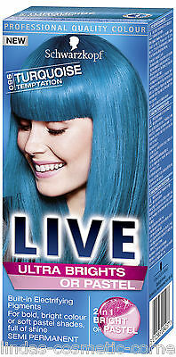 Schwarzkopf Hair Color LIVE XXL Ultra Brights - Choose from 7 Assorted Shades
