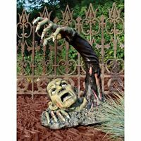 Large Graveyard Zombie Lawn Sculpture Detailed Statue Halloween Garden Yard Art