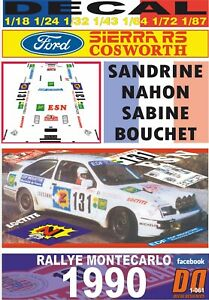 DECAL-FORD-SIERRA-RS-COSWORTH-SANDRINE-NAHON-R-MONTECARLO-1990-01
