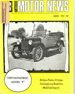 1929-HUPMOBILE-MODEL-034-R-034-AMN-Antique-MOTOR-NEWS-August-1974-Issue