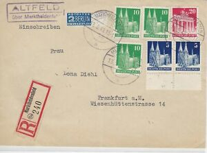 German Postal History Stamps Cover Ref: R4704