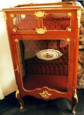 VITRINE GLAS SCHRANK CABINET SHOWCASE Barock Rokoko Empire Louis XV XVI antik
