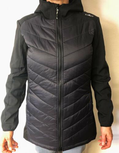CMP Softshellmantel ZIP HOOD Jacket für Damen schwarz verschiedene Größen NEU
