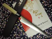 Japanese Sakai Yusuke Swedish Stainless Wa-Sujihiki Knife 270mm