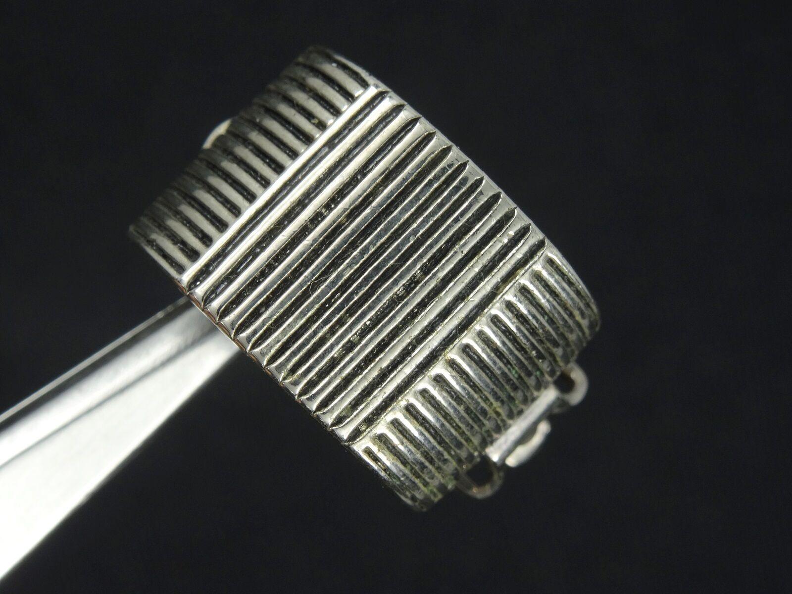 VINTAGE 80's RALPH LAUREN DESIGNER EARRINGS  ~ 0.… - image 5