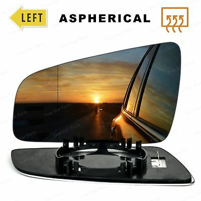 Right Driver Side Wide Angle Wing Mirror Glass for VAUXHALL ZAFIRA B 2005-2009