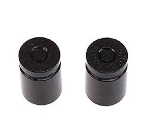 2 x BLACK SHELL CASING *SCHRADER//AMERICAN//LGE* VALVE CAP//DUST COVER  *UK SELLER*