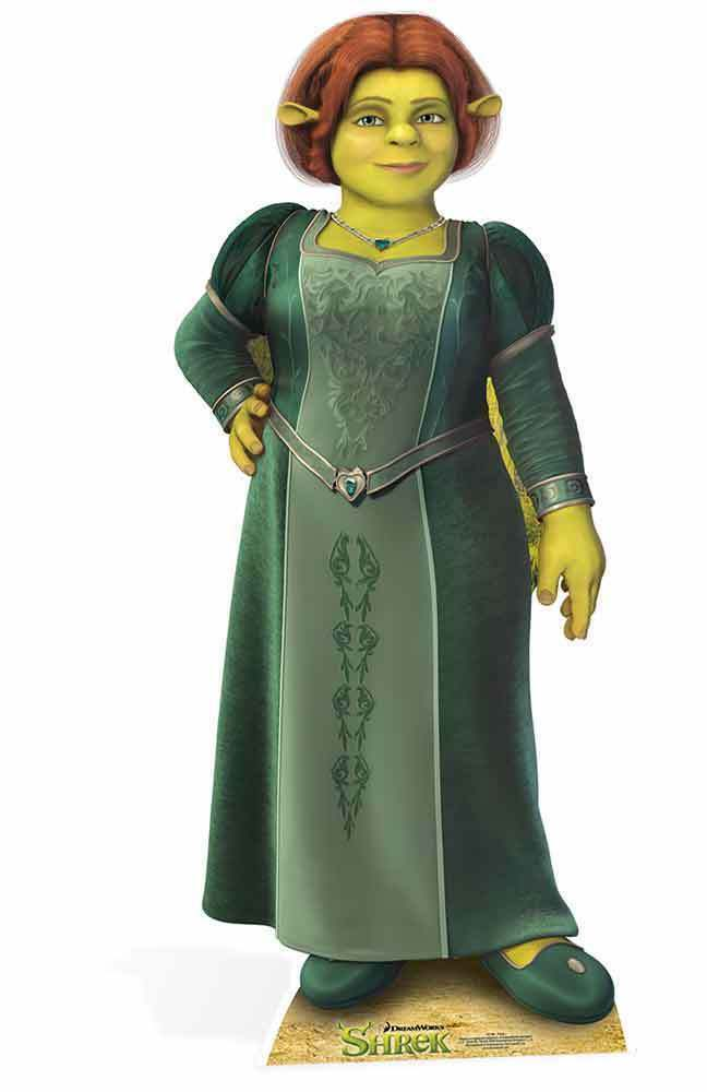 PRINCESS FIONA FROM SHREK LIFEGröße CARDBOARD CARDBOARD CARDBOARD CUTOUT   STAND UP  - DREAMWORKS 92891b