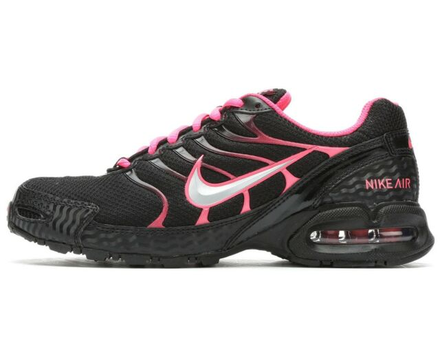 fd8dc691dcc Nike Air Max Torch 4 Womens 343851-006 Black Pink Flash Running Shoes Size  11