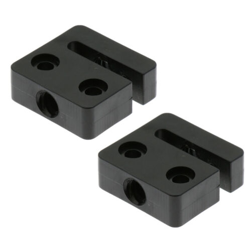 2mm Thread Pitch 8mm Lead 2 Pack 3D Printer T8 8mm Screw Nut Seat Block