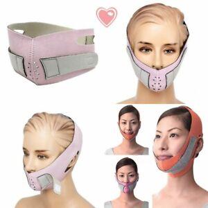 Face-Straffende-Maske-heben-Straffen-Kinn-Backe-schlanker-Anti-Falten-Guertel-Bandage