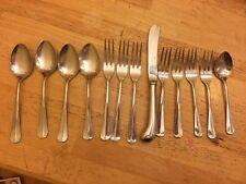 Reed & Barton Olde Lexington Stainless 1 Spoons Forks Knife Flatware Silverware