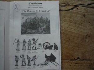 Tradition / Restriction De Corogne 1809 54mm Non 90mm 75mm Andrea Pegaso