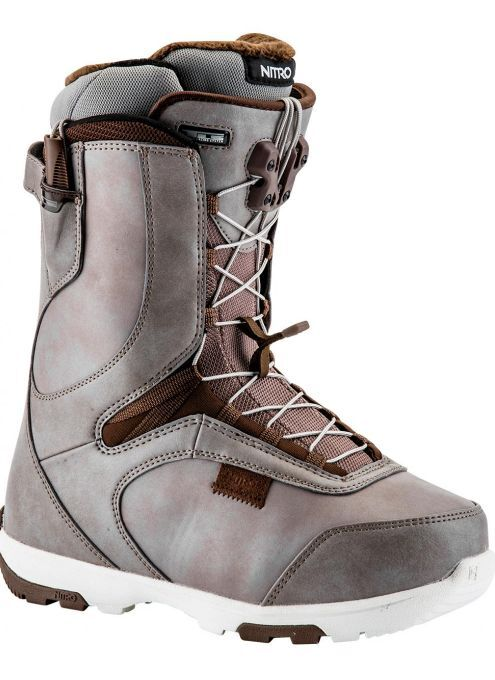 2017 NIB  NITRO WOMENS CROWN TLS SNOWBOARD BOOTS 8  250 Putty Dark Chocolate wmns  online at best price