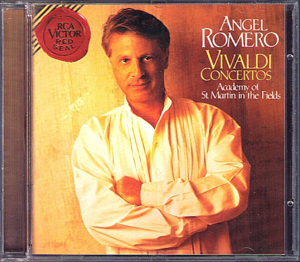 Angel ROMERO: VIVALDI 6 Guitar Concerto & Gitarre Trio CD Academy St. Martin RCA
