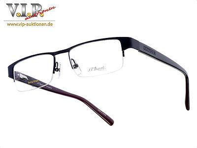 St.dupont Lunettes Brille Sonnenbrille Halfframe Glasses Sunglasses Occhiali Neu