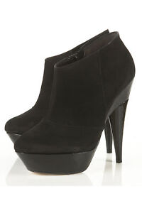 Ally Topshop Nuovi stivali da 8 Lovely Uk nero scarpe in fpfSXWwZq