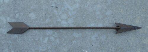 "18/"" Metal ARROW Wall Art ~ Rustic Industrial Iron Hanging Western American Decor"