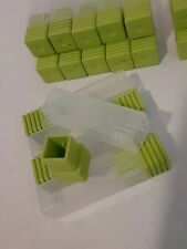 Plastic Small Parts Container Tube 25 Count Miniature Part Packing Shipping