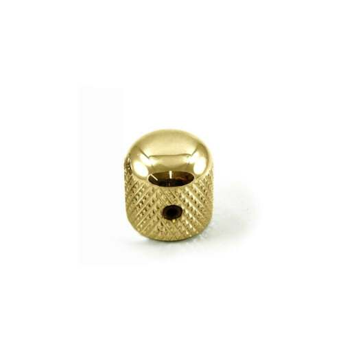 WD Music Metal Dome Knob Gold USA Fit