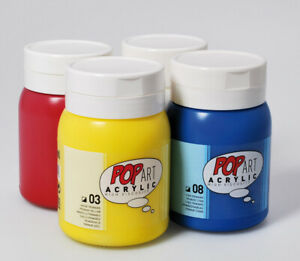 Pebeo-Pop-Art-Large-Multi-Purpose-Art-amp-Craft-Acrylic-Paint-700ml