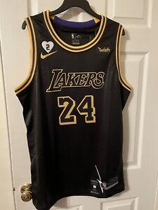 Authentic Kobe Bryant Black Mamba #24 Men's Stitched Los Angeles ...