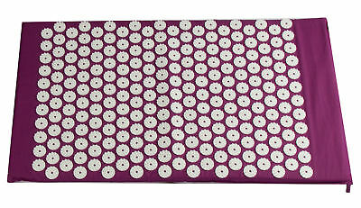 Pro11 Wellbeing Acupressure Mat Bed Of Nails, Blood Flow, Yoga Stress Relief
