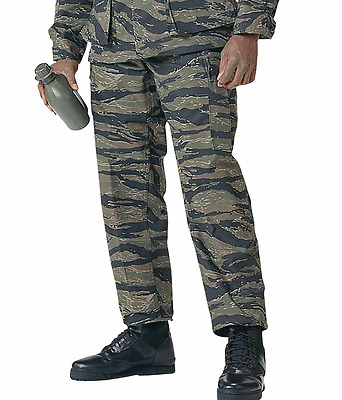 BDU Camouflage Cargo Pants Tactical Military Combat Uniform Rothco