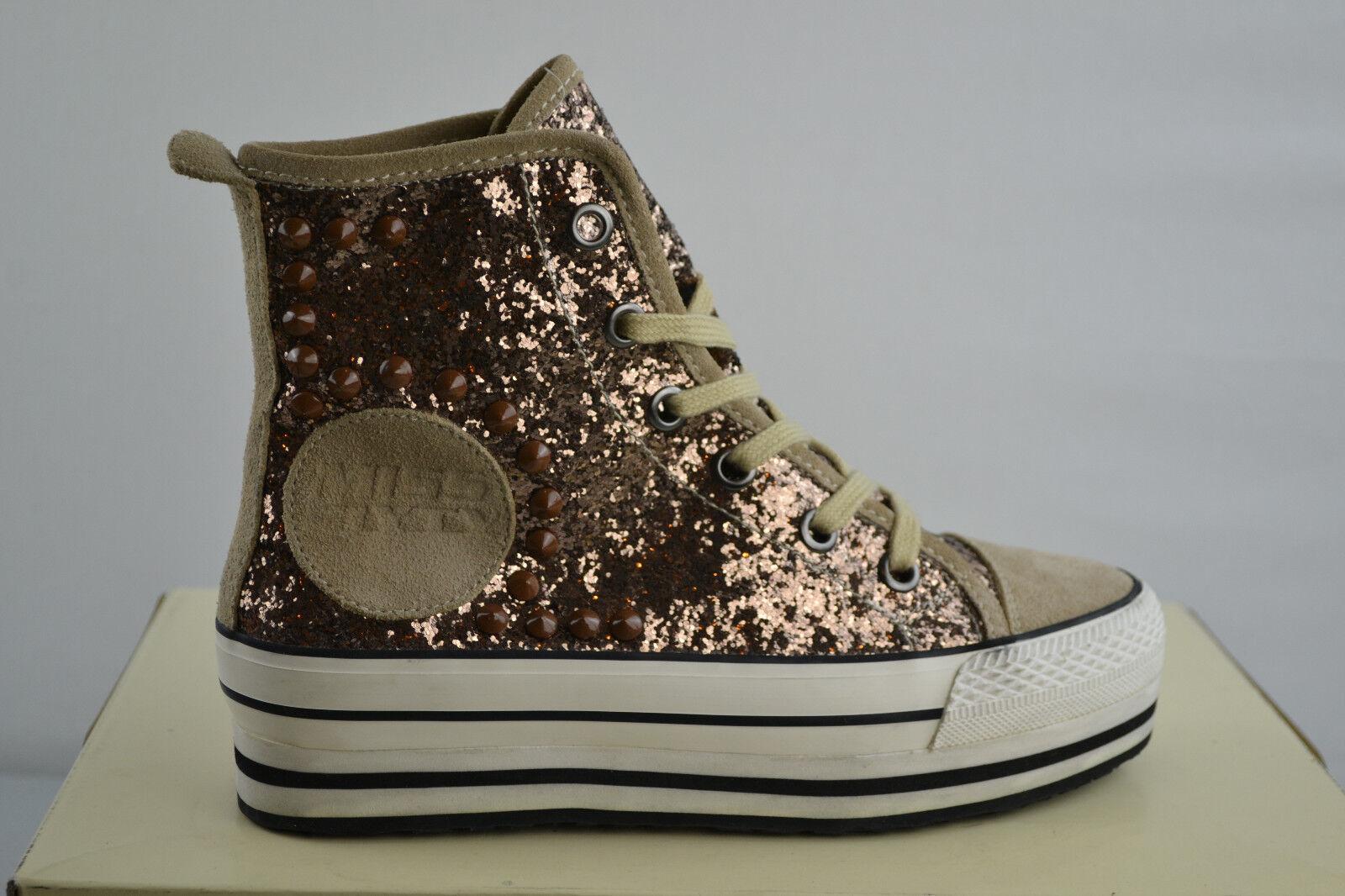 Miss Sixty Isabel Bronze Chaussures de Sport Baskets Chaussure Chaussures Gr. 37