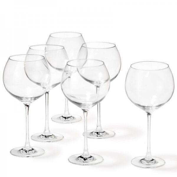 Leonardo Burgundergläser Cheers (6-teilig) | Professionelles Design