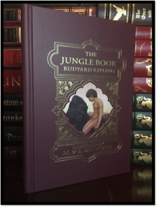 The-Jungle-Book-Illustrated-by-Edward-Detmold-Brand-New-Deluxe-Hardcover