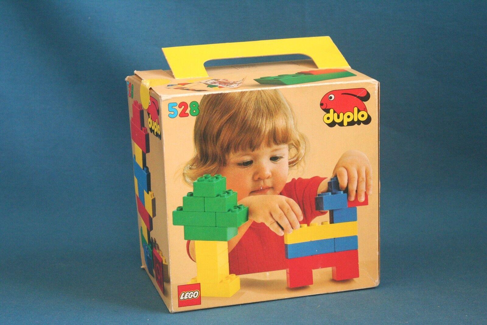 Vintage Lego duplo Box 528 1978 Denmark lego system  Never opened very SEALED