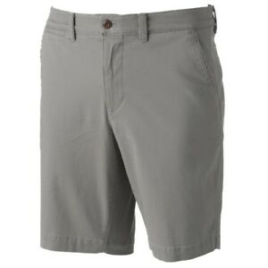 588770bf53a78 Details about Men's SONOMA Goods for Life Flexwear Flat-Front Shorts